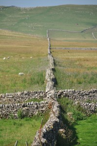 yorkshire dales drystone wall