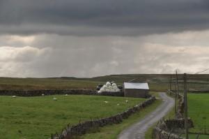 storm near pen-y-ghent