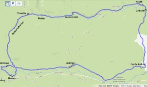 buttertubs to wharfedale
