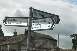 coverdale roadsign
