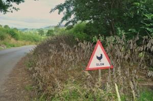 coverdale roadsign