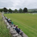 Watching cricket at Grassington