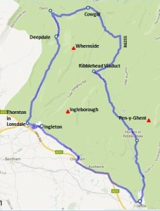 3 peaks driving route