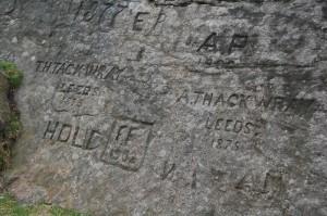 Ilkley Moor rock carvings
