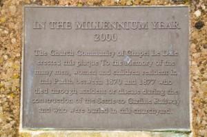 Chapel Le Dale memorial