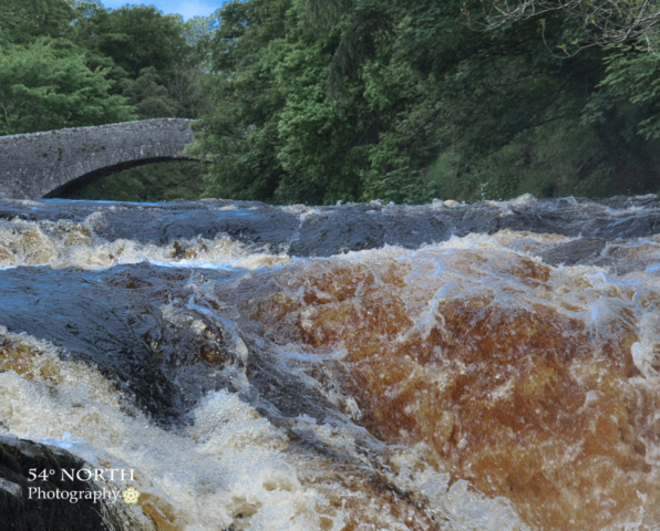 Stainforth Force in Nidderdale, Yorkshire