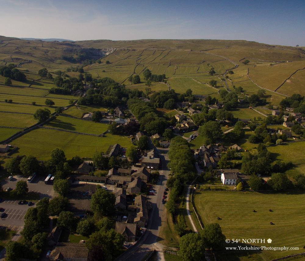 Aerial Photo of Malham Yorkshire
